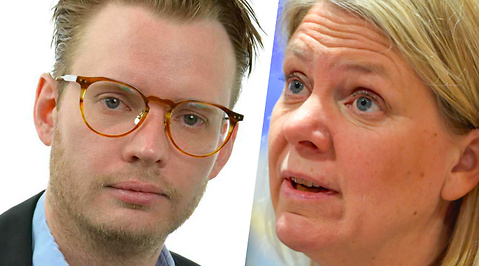 Magdalena Andersson, Moderaterna, Fredrik Schulte