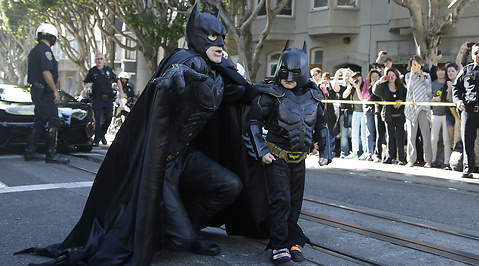 Batkid, Miles Scott, leukemi, Batman, San Francisco, Barack Obama