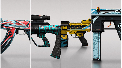 Counter-Strike: Global Offensive, R8, Skins, Counter-Strike