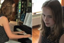 Piano, Downton Abbey,  Anna van Keulen, VideoExtra