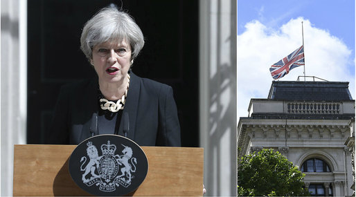 London, Attack, Theresa May