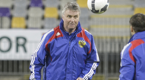 Ryssland, Guus Hiddink