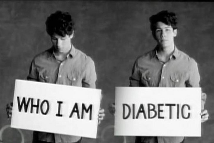 Nick Jonas har diabetes.