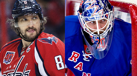 Slutspel, Washington Capitals, Psykning, nhl, New York Rangers, ishockey, Henrik Lundqvist