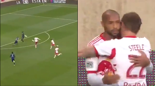 MLS, Fotboll, Thierry Henry, Drömmål, New York Red Bulls