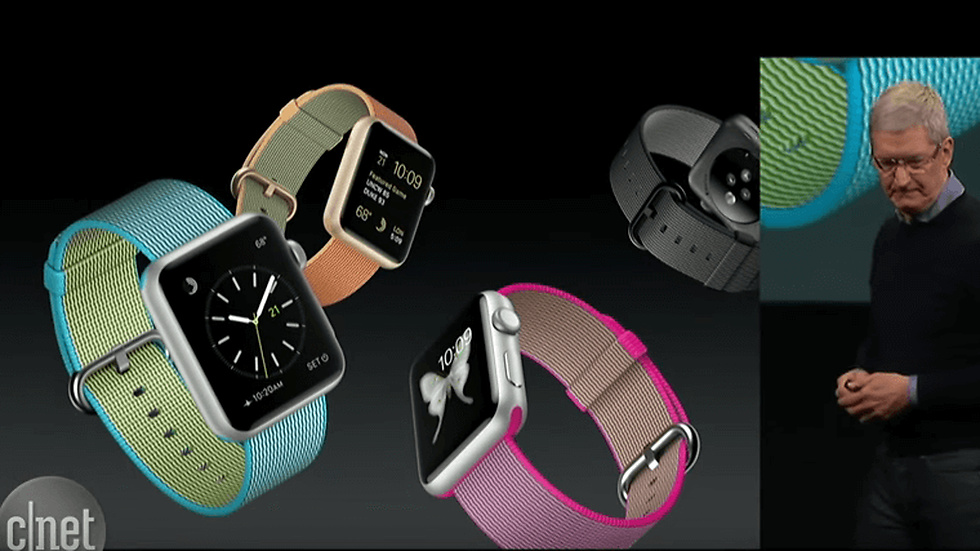 Apple Watch fick nya armband.