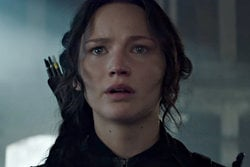 Jennifer Lawrence,  Mockingjay Part 1, catching fire, Hunger Games