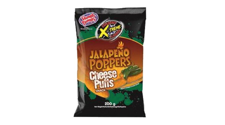 Jalapeno popper cheese snacks