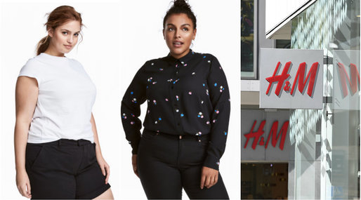 H&M, Plus Size, Kroppsideal
