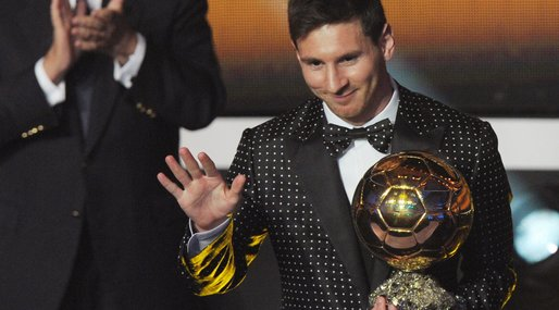 2012, Ballon d'Or, Messi