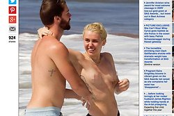 Daily Mail, Miley Cyrus, Patric Schwarzenegger