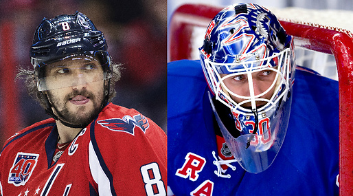 ishockey, Washington Capitals, Slutspel, Henrik Lundqvist, New York Rangers, Psykning, nhl