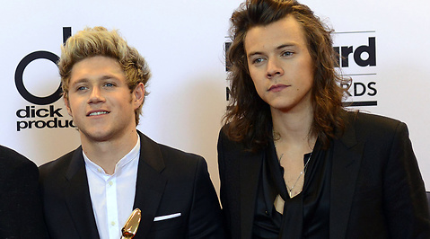 Billboard Music Awards, One direction, Harry Styles, Niall Horan