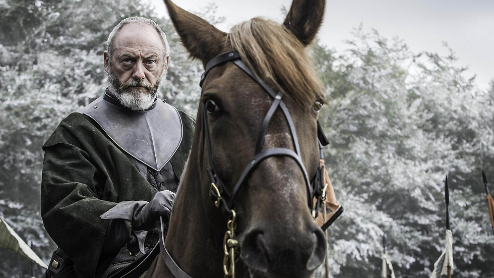 Liam Cunningham i den sjätte säsongen av Game of Thrones.