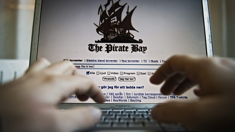 The Pirate Bay.