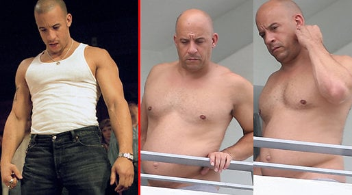 fast and the furious, Dad Bod, Vin Diesel