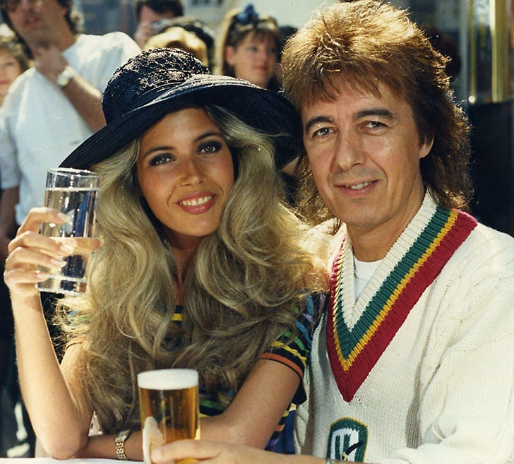 Mandy Smith och Bill Wyman