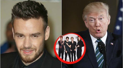 One direction, Liam Payne, Donald Trump