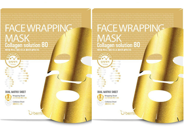 Face Wrapping Mask Collagen