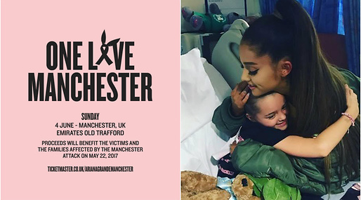 Terrorattacken på London Bridge, One Love Manchester, Ariana Grande, Terrorattacken i Manchester