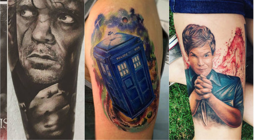 Tatueringstrend, House of cards, Oitnb, Breaking Bad, game of thrones, Tv-serier, Mad Men