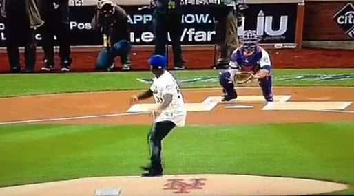 Pittsburgh Pirates, New York Mets, mlb, 50Cent, First Pitch, Baseboll