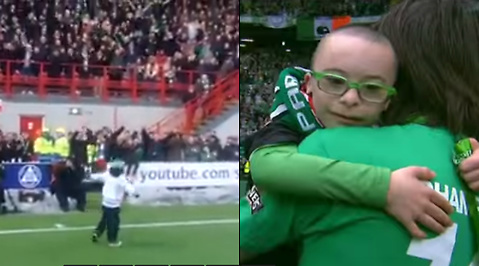Celtic, Supporter, Arena, Downs syndrom, Jay Beatty, Georgios Samaras