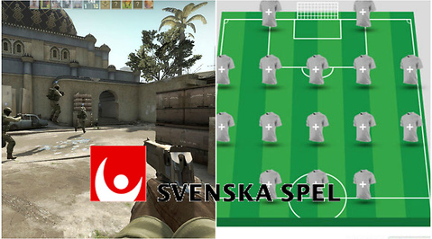Betting, Counter-Strike: Global Offensive, E-sport, Svenska Spel, Counter-Strike
