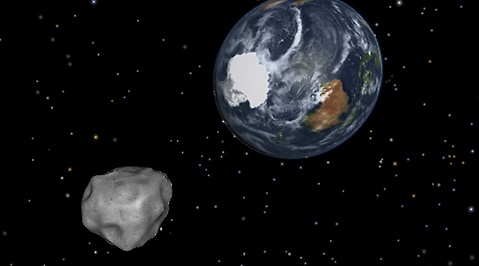 Asteroid, Jul, Jorden, Julafton, Nasa