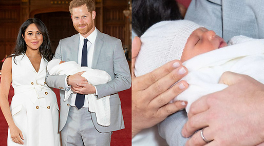 Meghan Markle, Archie Harrison Mountbatten-Windsor, Prins Harry