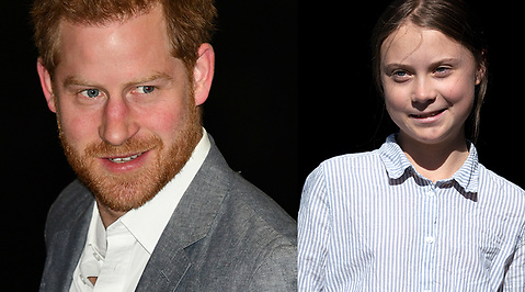Greta Thunberg, Prins Harry