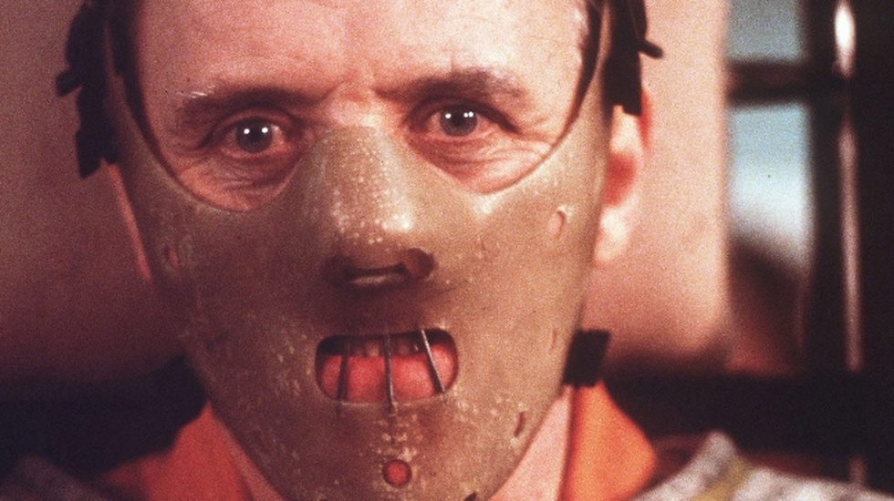 1992. Anthony Hopkins i rollen som Hannibal Lecter i The silence of the lambs.
