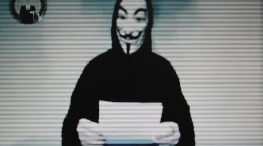 Anonymous, Christopher Kullenberg, DDOS