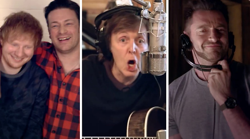 jamie oliver, Ed Sheeran, Paul McCartney