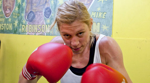 Anna Laurell, boxning, OS, OS-hopp, London