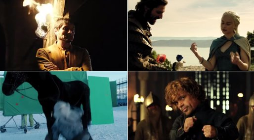 game of thrones,  khaleesi, Bloopers,  season 4