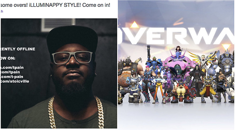 Twitch, T-Pain, Overwatch