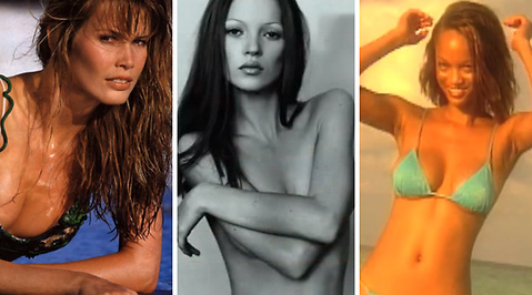 Naomi Campbell, Cindy Crawford, Milla Jovovich, Kate Moss