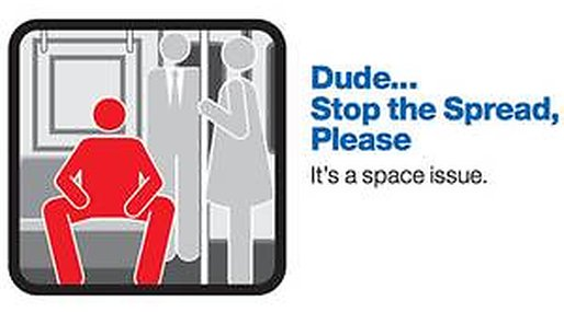 man-spreading,  Metropolitan Transportation, Kampanj, New York, tunnelbana