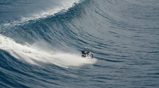 Robbie Maddison, Surfing, Motocross