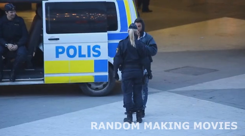 Random Making Movies, Polisen, Samir Badran