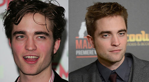 Robert Pattinson, Makeover