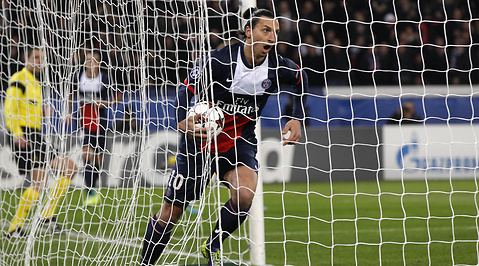 Olympiakos, Champions League, Slutspel, Paris Saint Germain, Zlatan Ibrahimovic