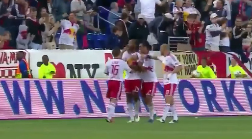 Thierry Henry,  Mål på hörna, New York Red Bulls
