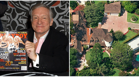 Hugh Hefner, Playboy Mansion, Playboy