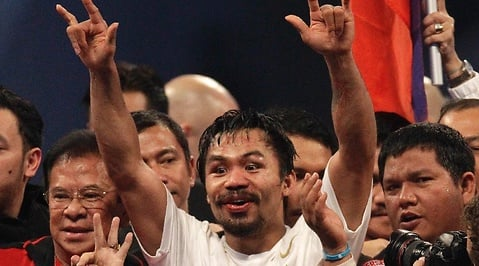 Manny Pacquiao, boxning