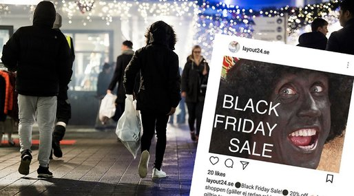Black Friday, Blackface, Layout24