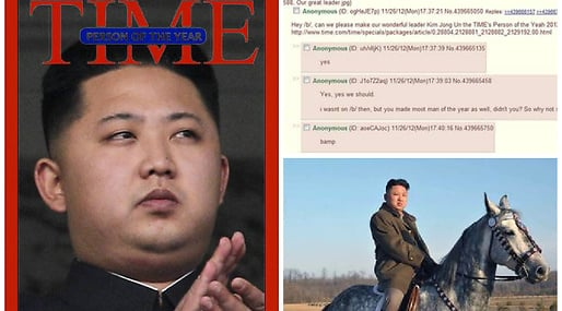 The Onion, Time, Kim Jong-Un, Nordkorea, 4Chan
