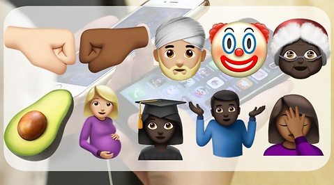 Emoji, Apple, iOS