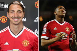 Zlatan,  Anthony Martial, Zlatan Ibrahimovic, Premier League, Fotboll